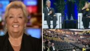Juanita Broaddrick responded to the Clinton's low turn out! Photo credit to The Freedom Times compilation with Fox Screen Grab, Daily Mail, Toronto CTV.