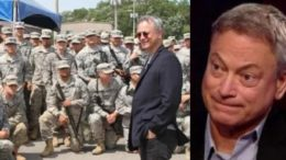 Hollywood gets behind Gary Sinise as Time Magazine Man of the Year. Photo credit to The Freedom Tmes compilation with Gary Sinise Foundation, Fox Screen Shot.