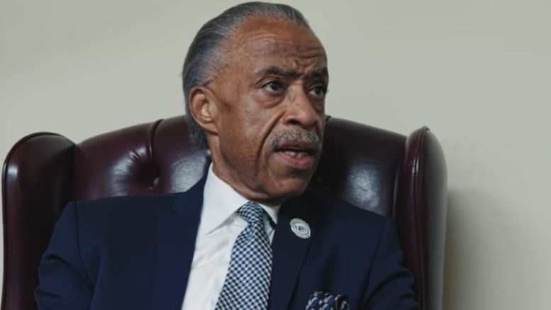 Sharpton does a deal with...himself. To avoid taxes? Photo credit to The Freedom Times with Viceland Screen Shot.