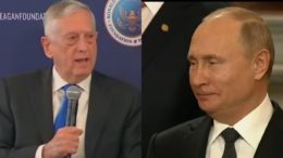 Mattis speaks out on Putin and Russia. Photo credit to The Freedom Times compilation with screen shots.