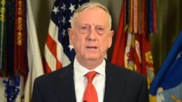 General Mattis delivers powerful farewell to troops. Photo credit to The Freedom Times screen capture.
