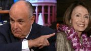 Rudy Giuliani tweets the hypocrisy of Nancy Pelosi and other Democrats who had voted for border security previously. Photo credit to The Freedom Times compilation with CNN Screen Grab, Hawaii Reporter.