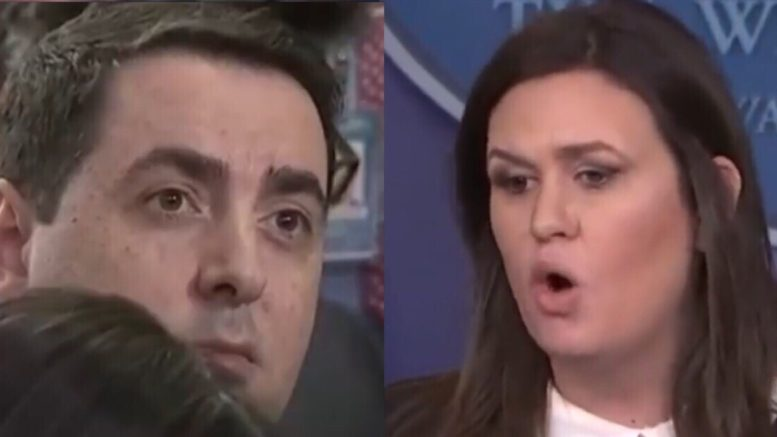 Portnoy tries to have Sarah walk back a comment. Sarah told him exactly why she would not...backed up with facts. Photo credit to The Freedom Times compilation with screen shots.