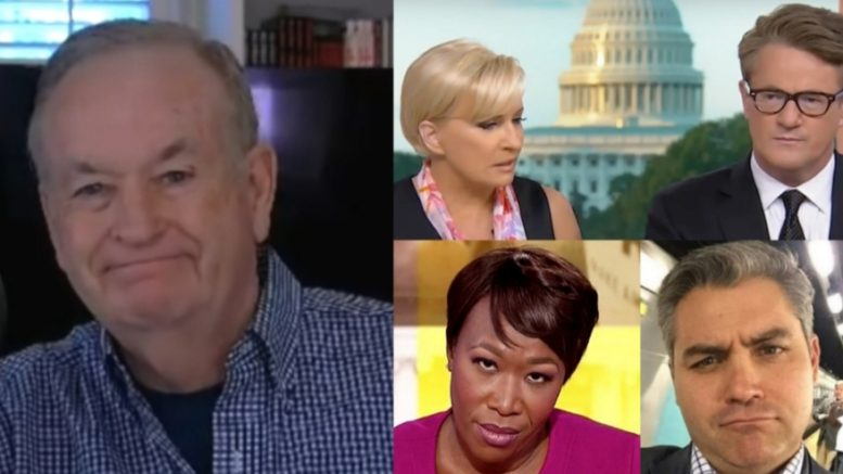 Bill O'Reilly joined Wayne Allyn Root and discussed the MSM going into 2019. Photo credit to The Freedom Times compilation with Screen Shots, The Wrap, Twitter.