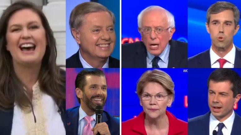 GOP, Democrat Debate Candidates