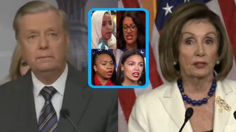 Graham, The Squad, Pelosi