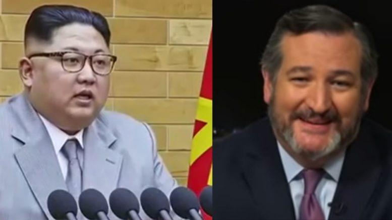 Kim Jong Un, Cruz