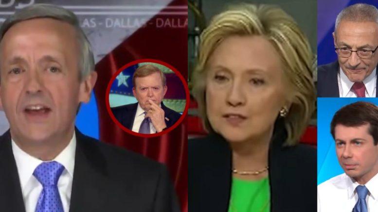 Jeffress, Hillary, Podesta, Buttigieg