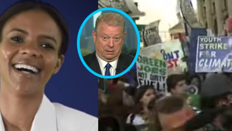Candace Owens, Gore, Global Climate Strike