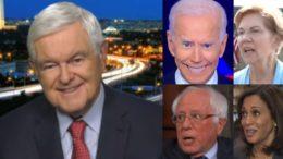 Newt, Biden, Warren, Bernie, Kamala, ,,