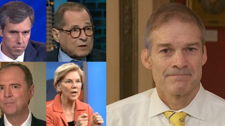 Beto, Nadler, Schiff, Warren, Jordan