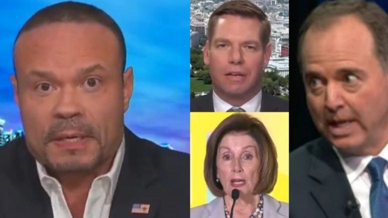Bongino, Swalwell, Pelosi, Schiff