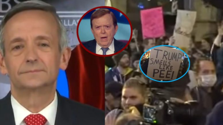 Jeffress, Dobbs, Protesters