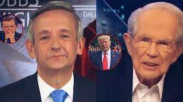 Pastor Jeffress, Lou Dobbs, Trump, Pat Robertson