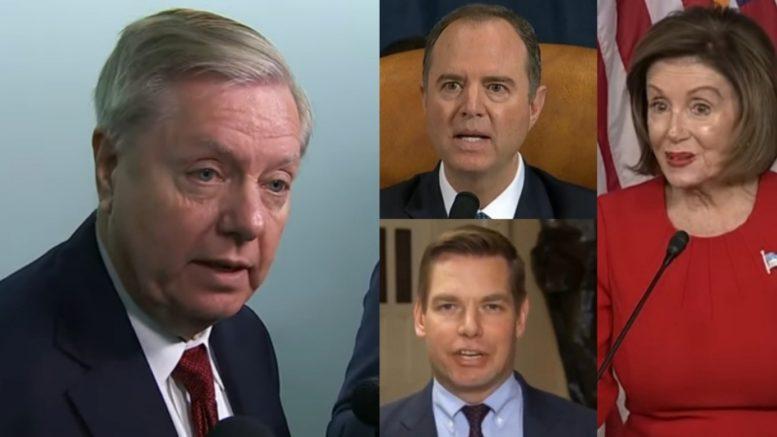 Graham, Schiff, Pelosi, Swalwell