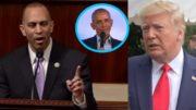 Hakeem Jeffries, Obama, Trump