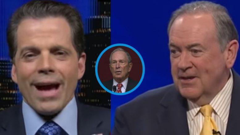 Scaramucci, Bloomberg, Huckabee