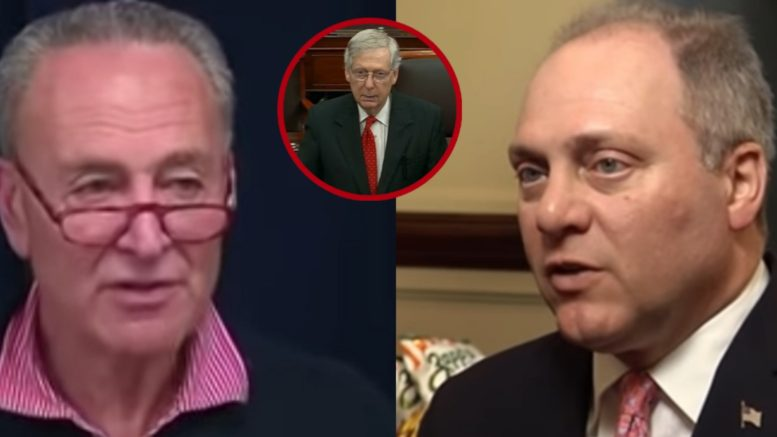 Schumer, McConnell, Scalise