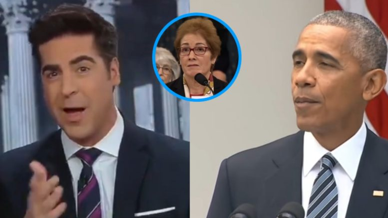 Watters, Yovanovitch, Obama