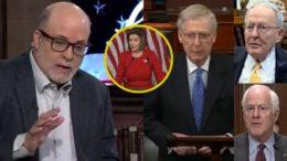 Levin, Pelosi, McConnell, Lamar Alexander, Cornyn