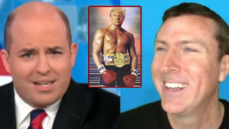 Stelter, Trump, Mark Dice