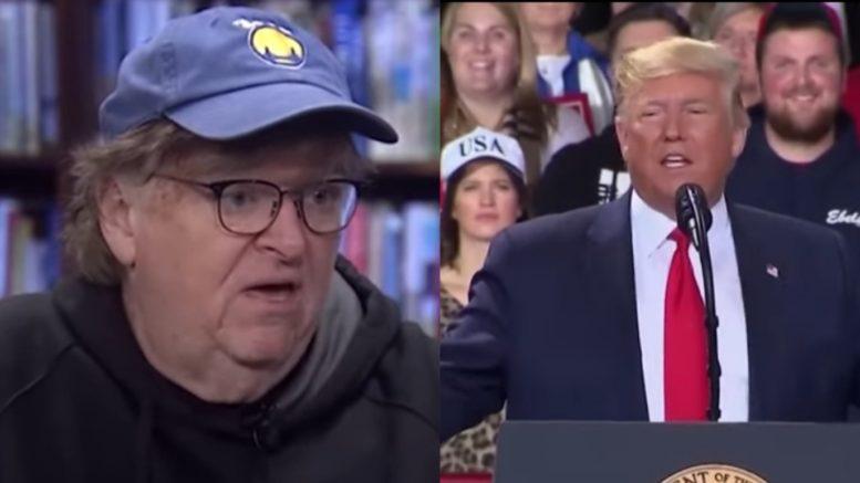 Michael Moore, Trump