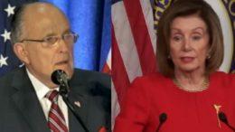 Giuliani, Pelosi