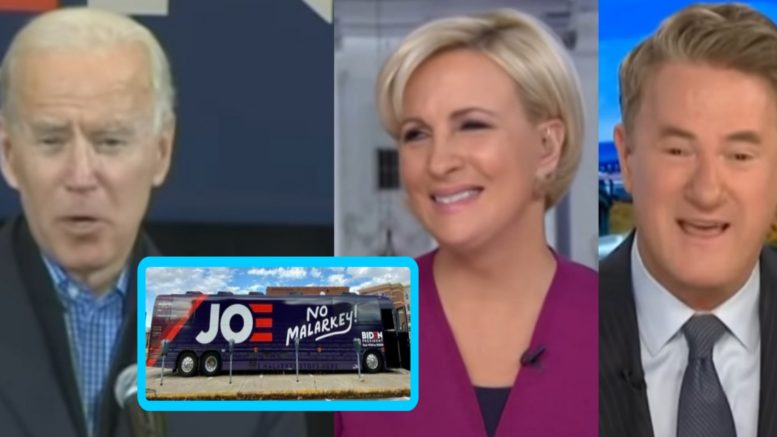 Biden, No Malarkey, Scarborough, Mika