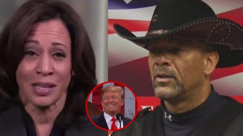 Kamala, Trump, Sheriff Clarke