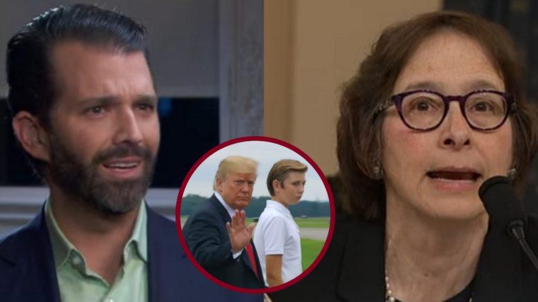 Don Jr., President Trump, Barron Trump, Karlan