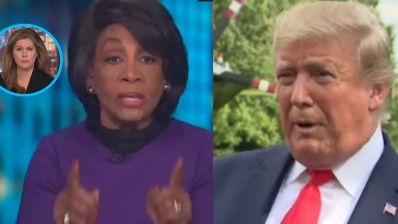 Maxine Waters, Trump, CNN
