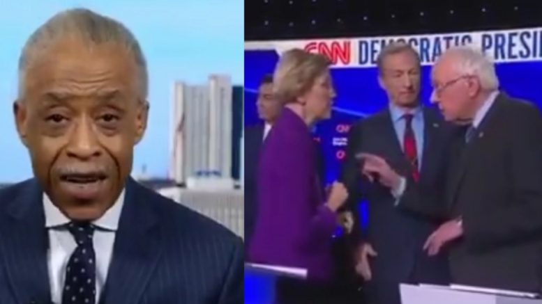 Sharpton, Democrat Presidential Candidates
