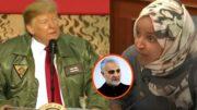 Trump, Khamenei, Omar