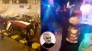 Iraqis Celebrating, Qassem Soleimani
