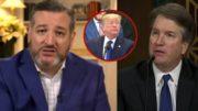 Cruz, Trump, Kavanaugh