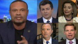 Bongino, Buttigieg, Pelosi, Schiff, Swalwell