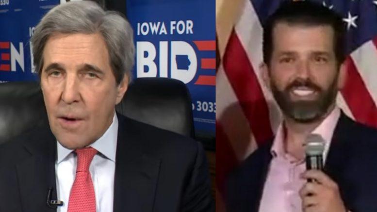 Kerry, Don Jr.