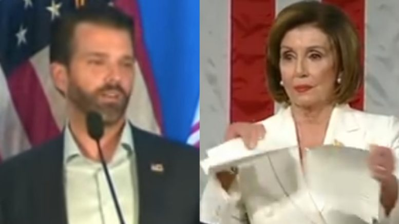 Don Jr., Pelosi