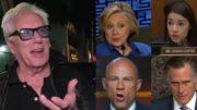 James Woods, Hillary, AOC, Avenatti, Romney