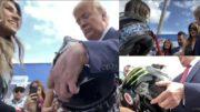 Trump, Hailie Deegan