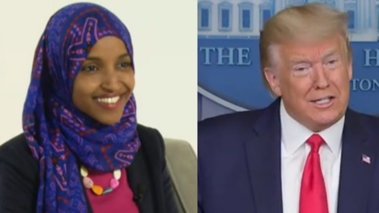 Omar, Trump