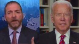 Chuck Todd, Biden