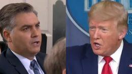Acosta, Trump