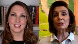 Ronna McDaniel, Nancy Pelosi