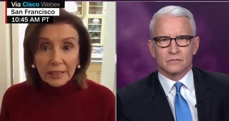 Pelosi, Anderson Cooper