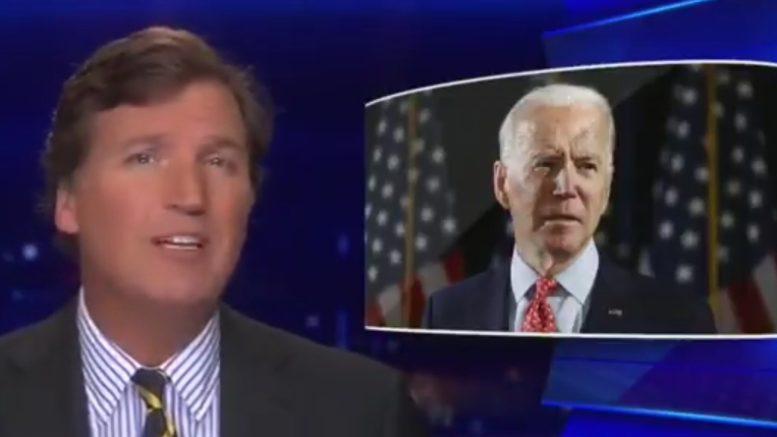 Tucker, Biden