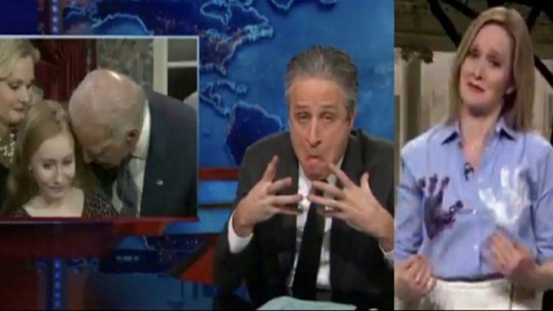 Biden, Jon Stewart, Samantha Bee