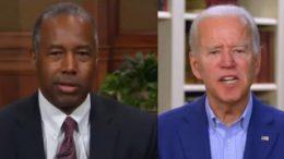 Ben Carson, Joe Biden