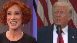 Kathy Griffin, Trump