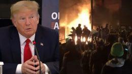 Trump, Antifa